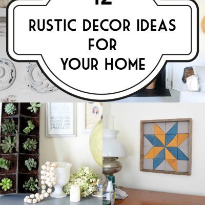Rustic Decor Ideas for Your Home