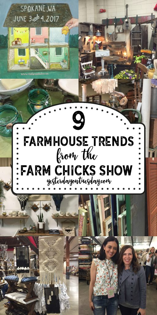 9 Hot Farmhouse Trends from the Farm Chicks Show