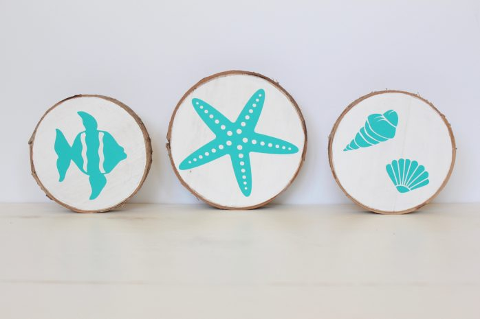 Beachy Wood Slices
