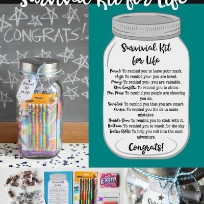 Survival Kit for Life Graduation Gift