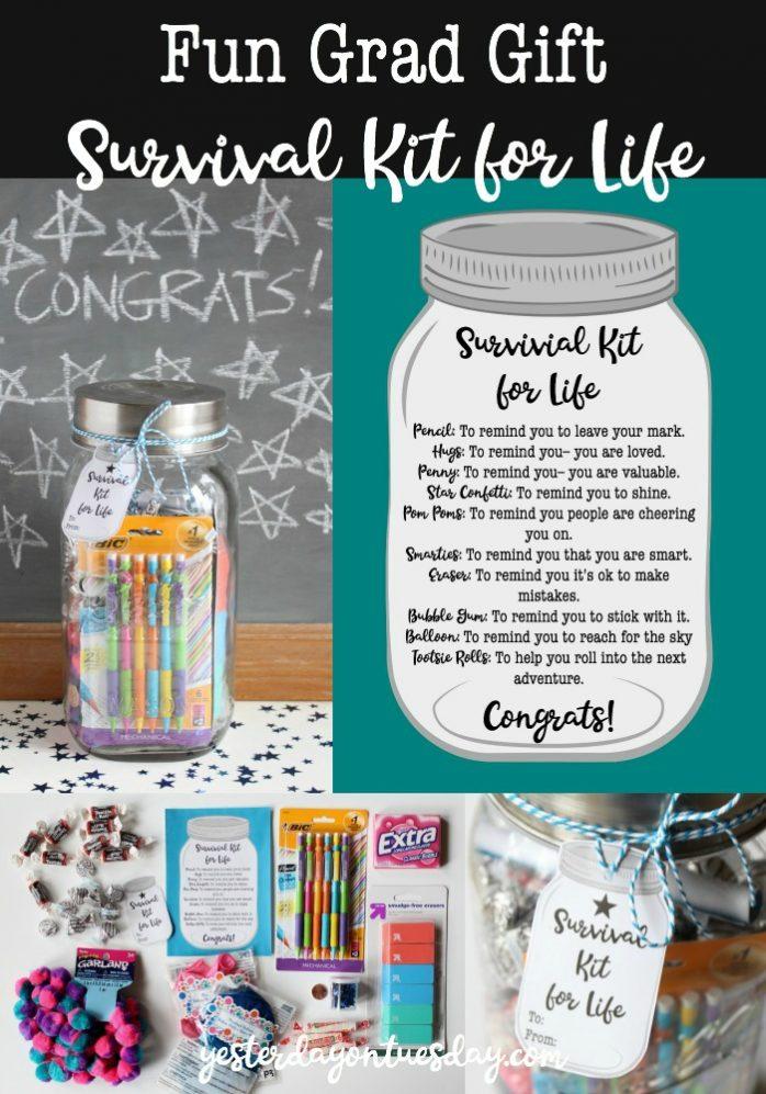 Fun Grad Gift Survival Kit for Life