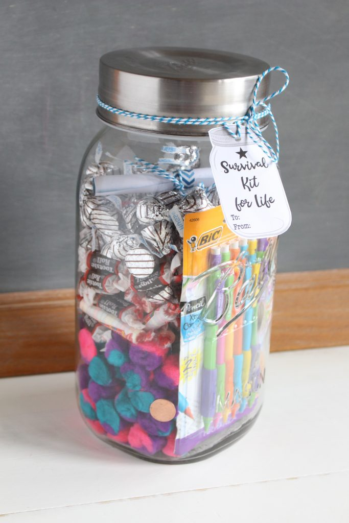 Mason Jar for Graduation