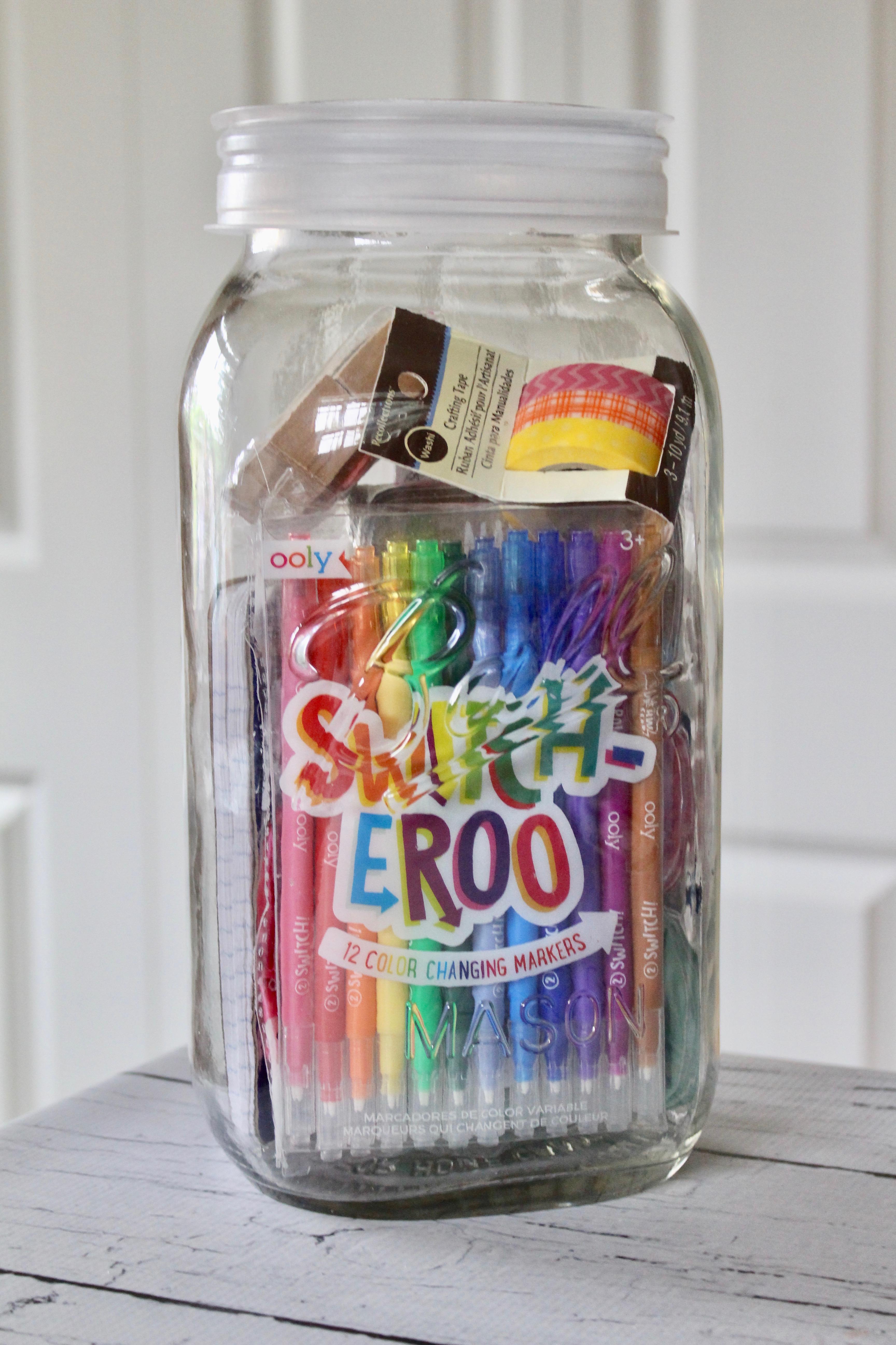 Design Mason Jar Stuff summer fun kit in a mason jar yesterday on tuesday jar