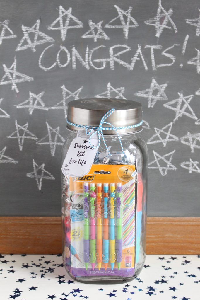 Survival Kit for Life with Chalkboard