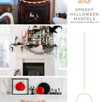 15 Spooky Halloween Mantels