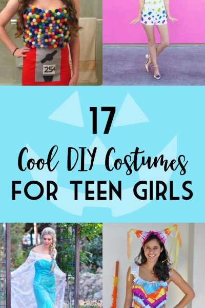 17 Cool DIY Costumes for Teen Girls