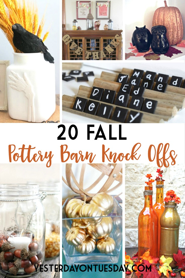 20 Fall Pottery Barn Knock Offs Yesterday On Tuesday