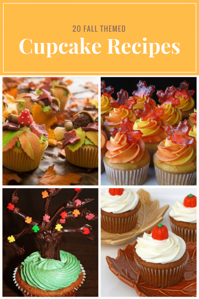 20 fall themed cupcake recipes 683x1024 png