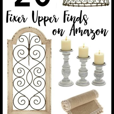 20 Fixer Upper Style Finds on Amazon
