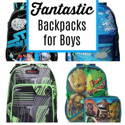 50 Fantastic Backpacks for Boys