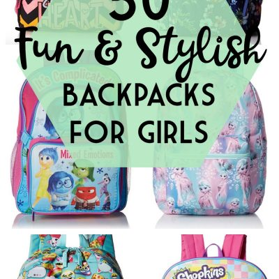 50 Fun & Stylish Backpacks for Girls