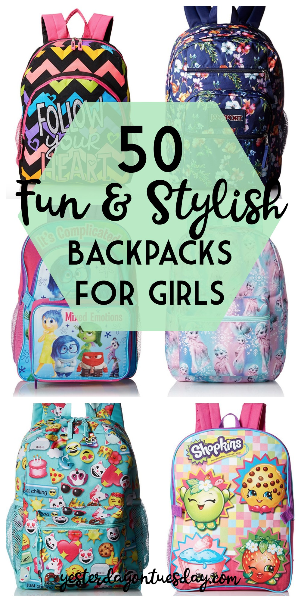 Awesome backpacks to buy for girls