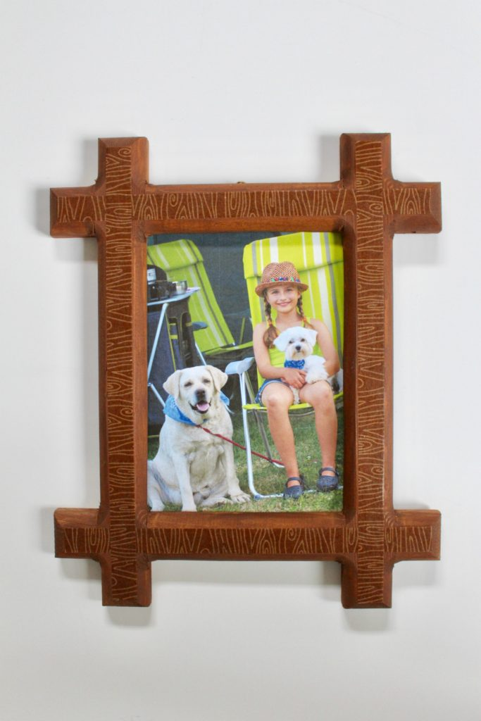DIY Wood Grain Frame