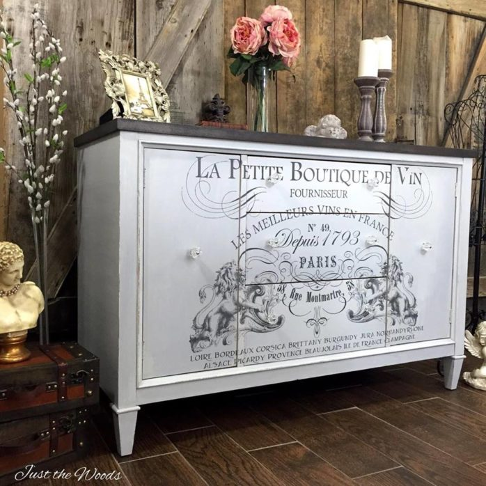 Lovely French Inspired Buffet