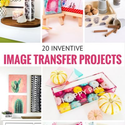 20 Inventive Image Transfer Projects