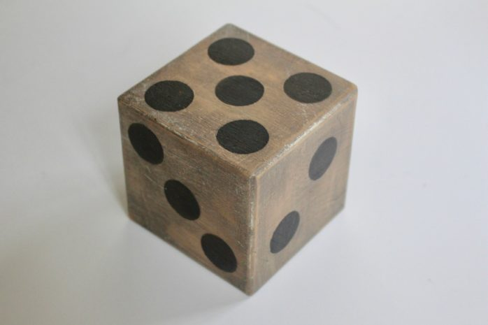 DIY Outdoor Dice