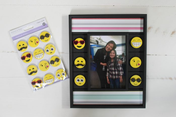 Emoji Picture Frame and Stickers