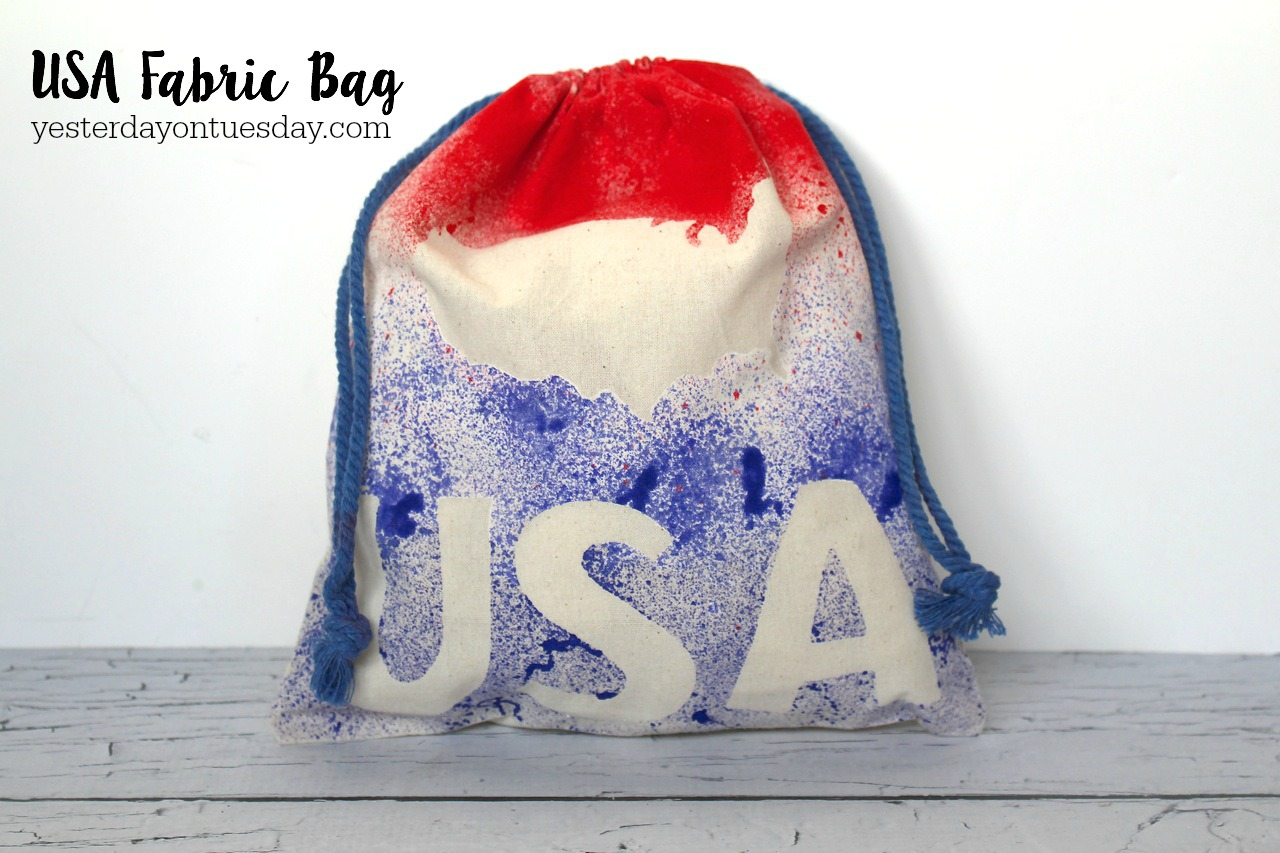 DIY USA Fabric Bag
