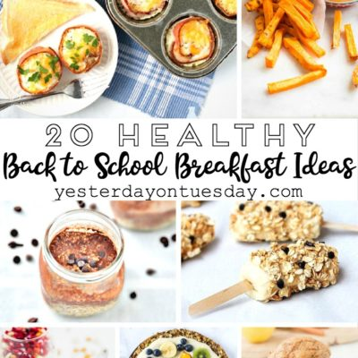 20 Healthy Back to School Breakfast Ideas