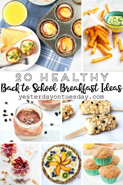 20 Healthy Back to School Breakfast Ideas