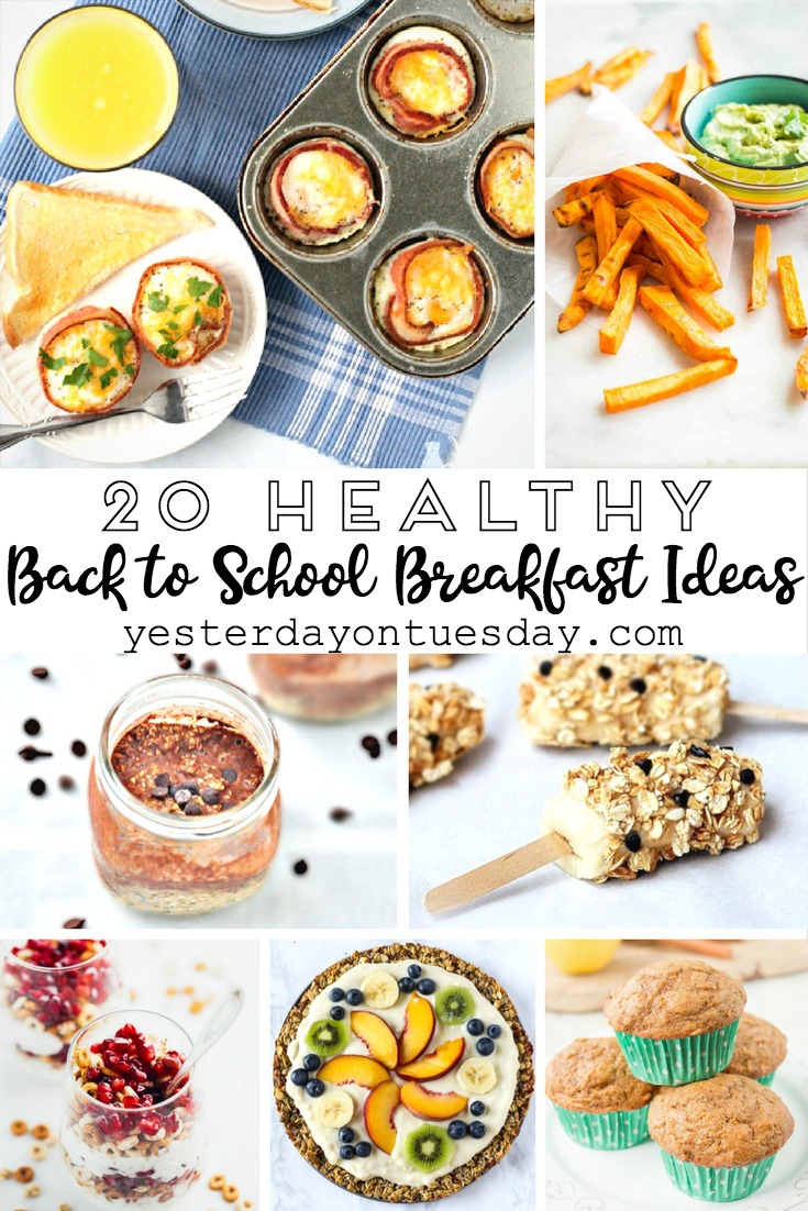 Yummy and Healthy Breakfast Ideas