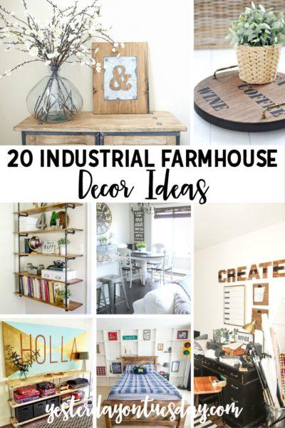 20 Industrial Farmhouse Decor Ideas