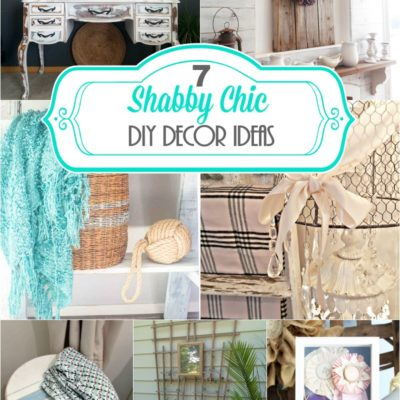 7 Lovely Shabby Chic Decor Ideas