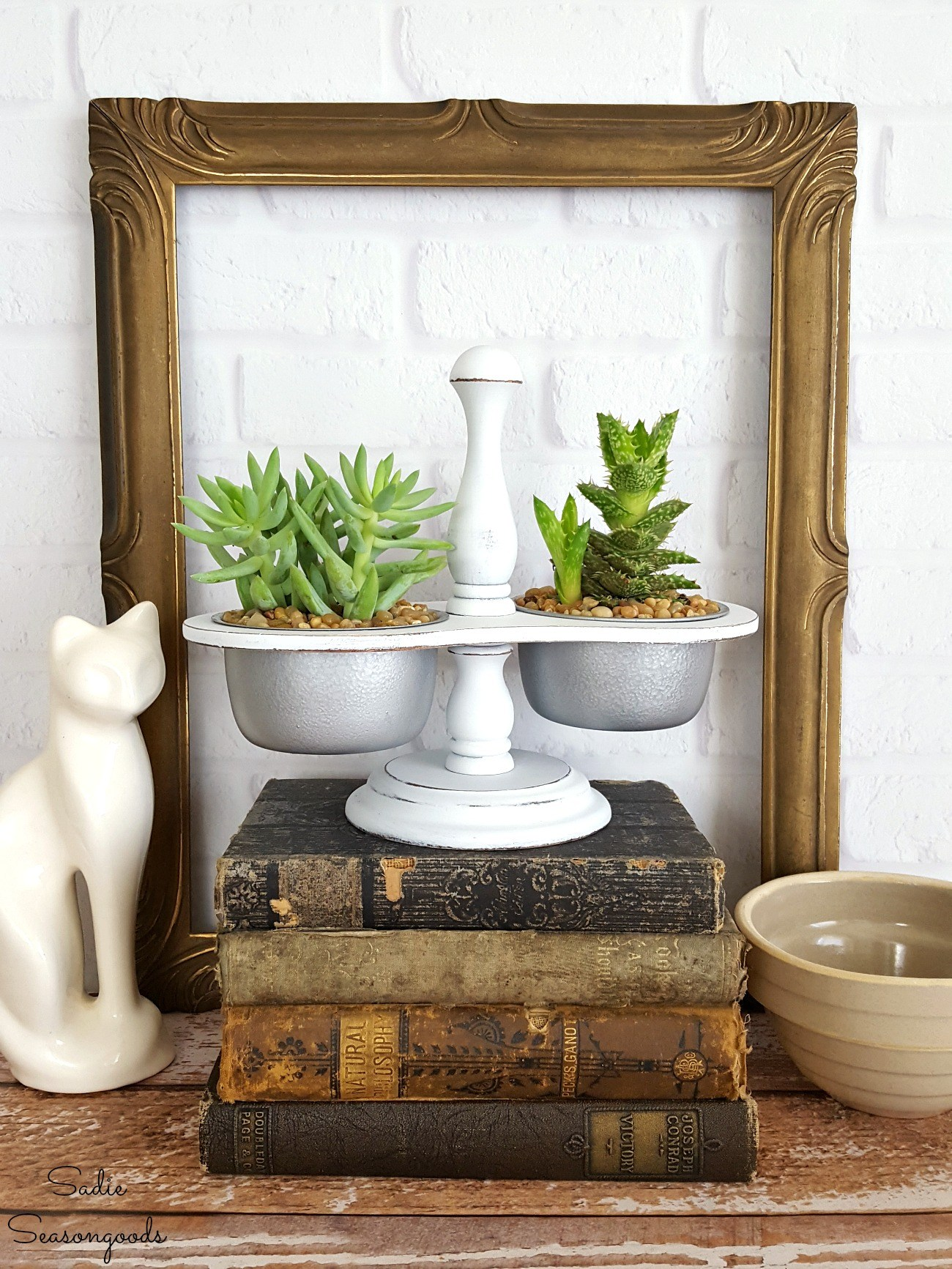 French Farmhouse Succulent Planter from Sadie Seasongoods