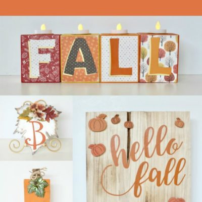 FUN Fall Decor to Make Yourself