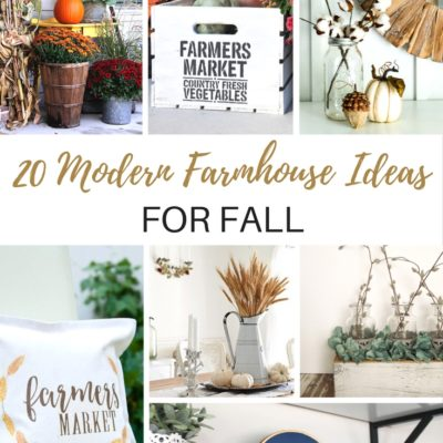 20 Modern Farmhouse Ideas for Fall