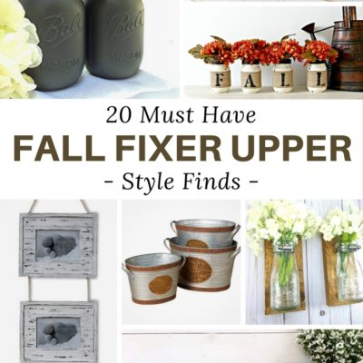 Awesome Modern Farmhouse Style Finds for Fall