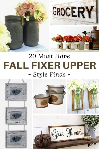 Must Have Fall Fixer Upper Style Finds