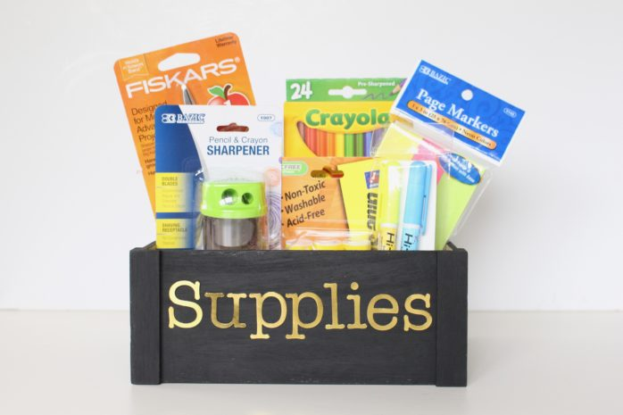 Supplies Box