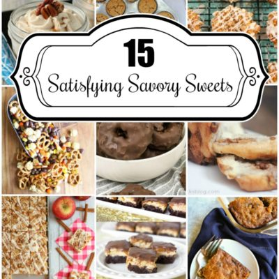 15 Satisfying Savory Sweets