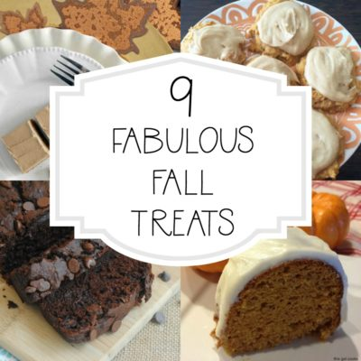 9 Fabulous Fall Treats