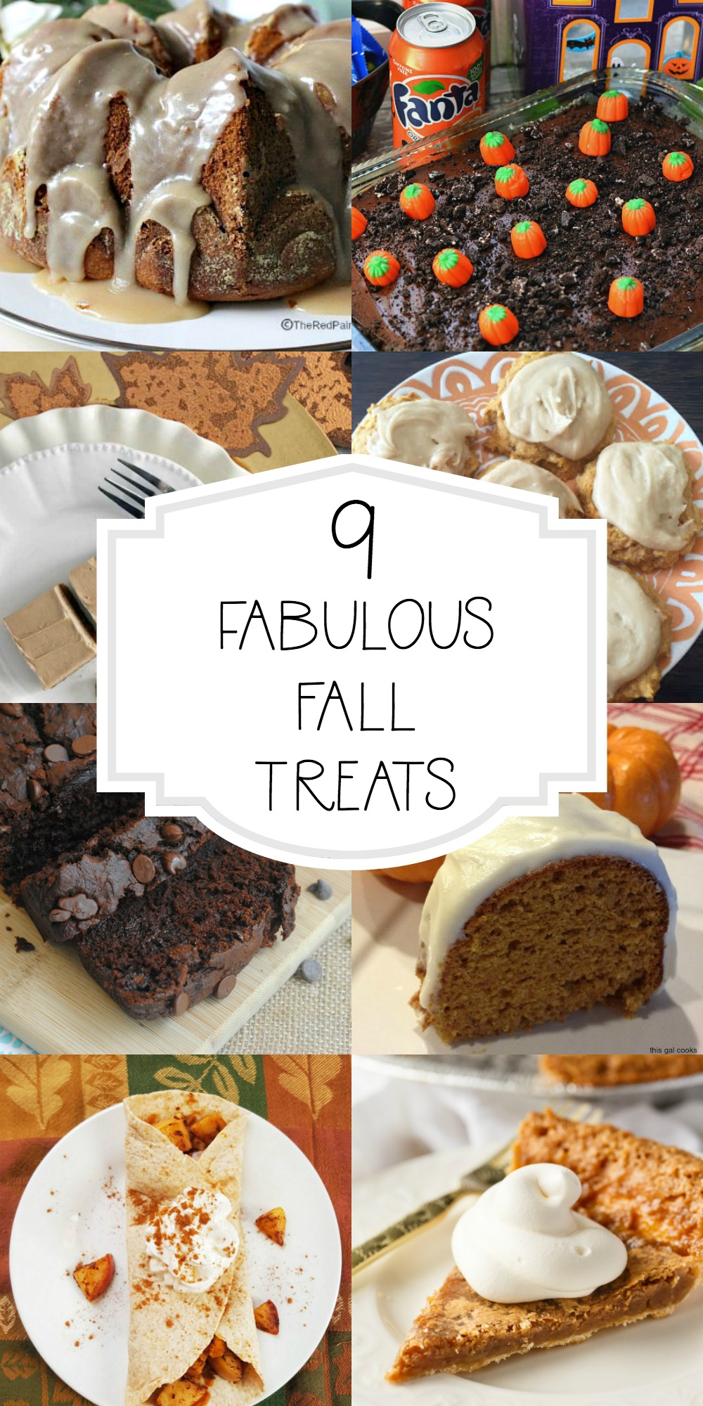 Fall Sweets and Treats