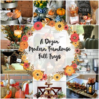 Modern Farmhouse Fall Tray