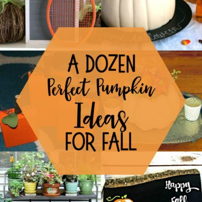 Perfect Pumpkin Ideas for Fall