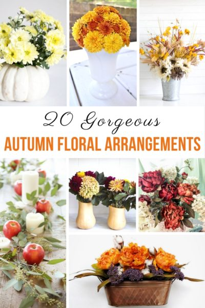 20 Gorgeous Autumn Floral Arrangements