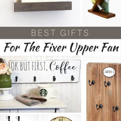 Best Gifts for the Fixer Upper Fan