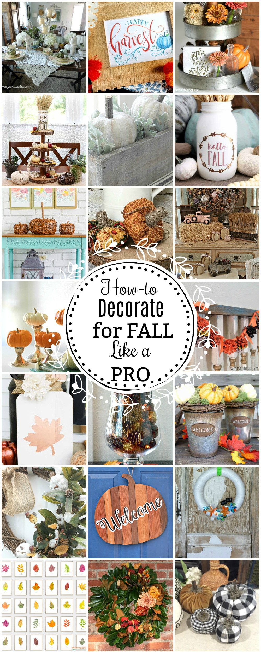 Pro Decorating Tips for Autumn