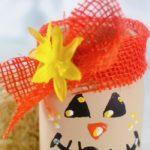 DIY Scarecrow Mason Jar