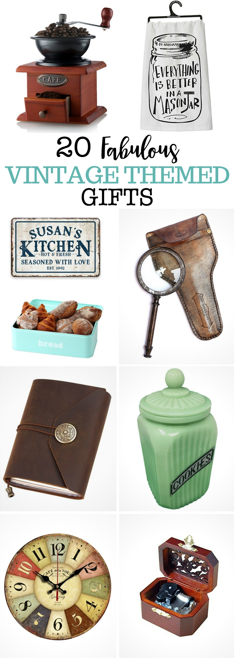 20 Fabulous Vintage Themed Gifts | Yesterday On Tuesday