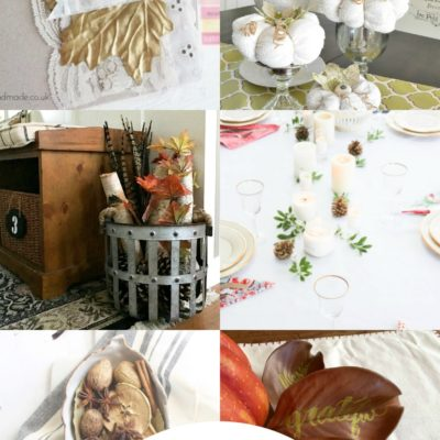 A Dozen Fall Modern Farmhouse DIYS