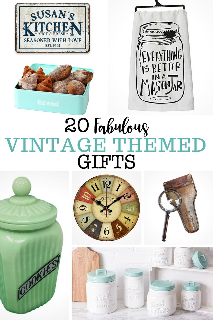 Vintage Themed Gifts for Holiday Gift Giving
