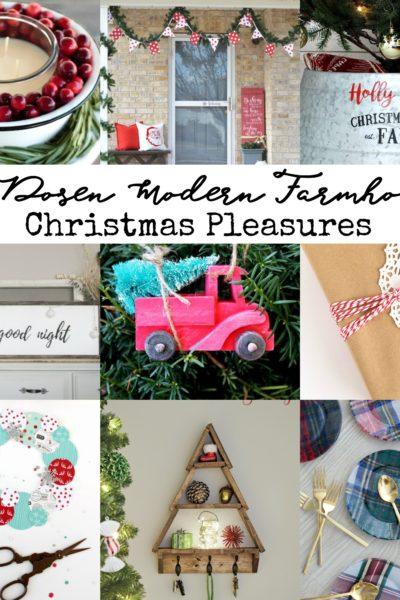 A Dozen Modern Farmhouse Holiday Pleasures