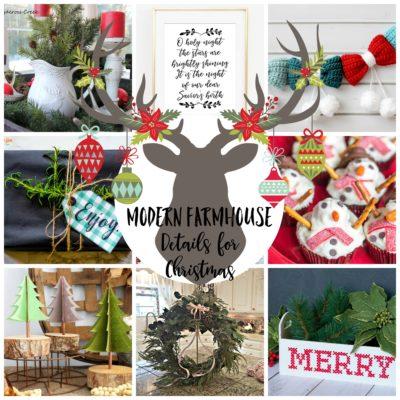 A Dozen Modern Farmhouse Details for Christmas
