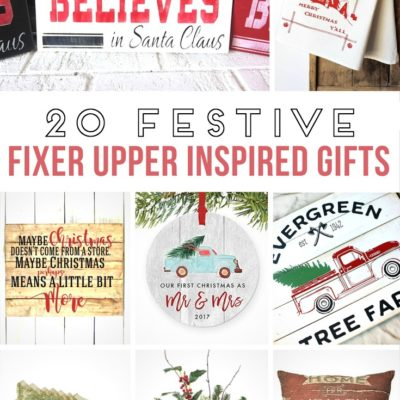 20 Festive Fixer Upper Style Gifts