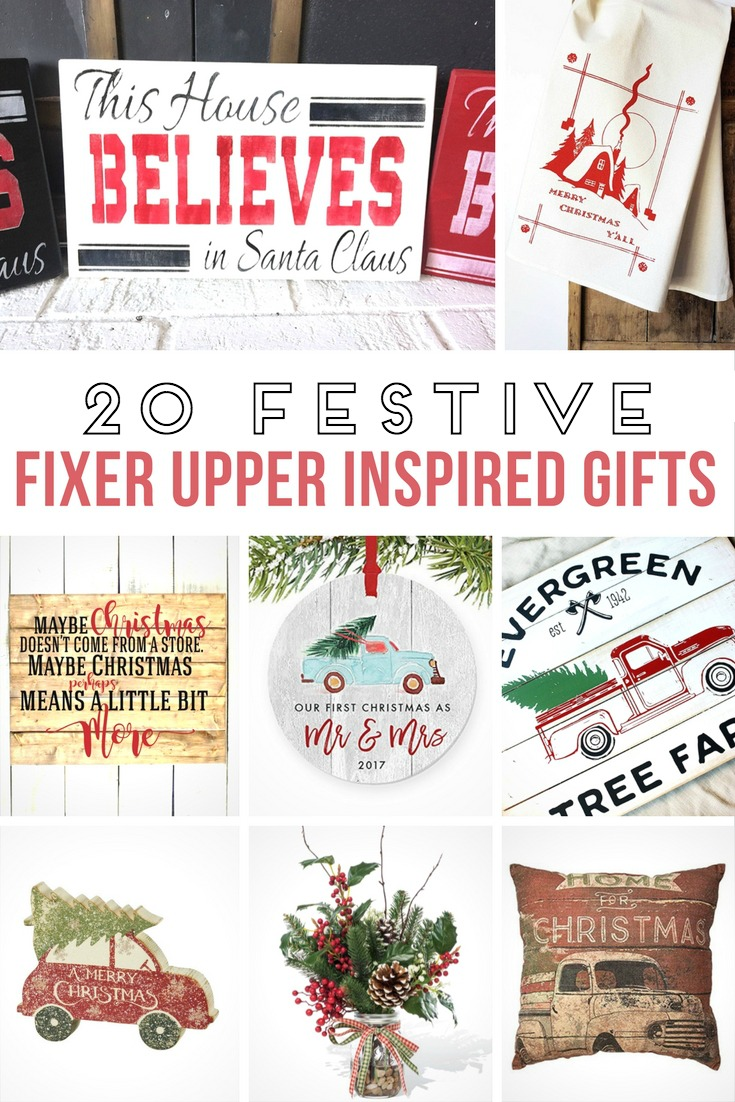 20 festive fixer upper style gifts yesterday on tuesday