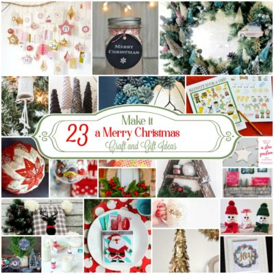 23 Unique DIY Christmas Craft and Gift Ideas
